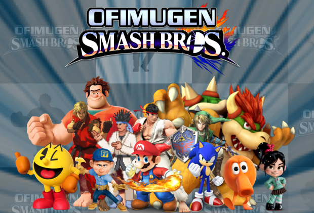 Ofimugen Smash Bros  coveart