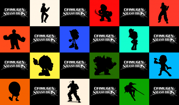 Ofimugen Smash Bros. wallpaper