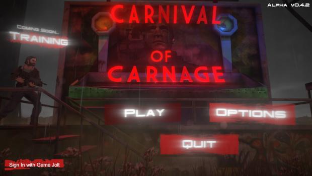 Carni Carnage - Title