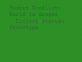 Modern Conflict:World in Danger