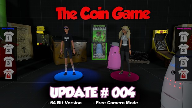 64 bit Version, New Clothing Options and a new Free Camera Mode