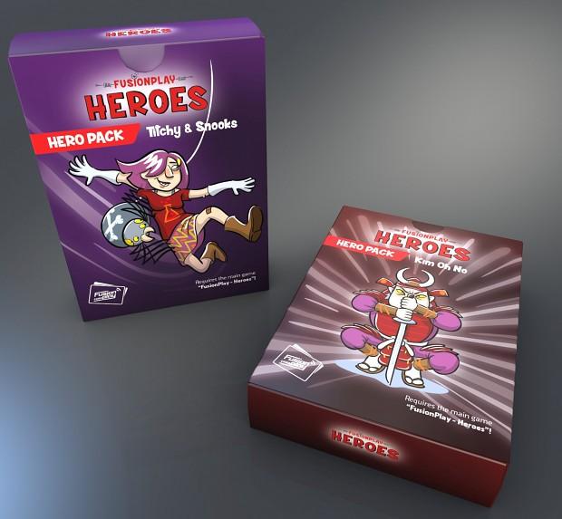 Packaging - Hero Packs