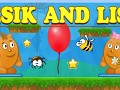 Lesik and Lisa: The adventure on the balloon