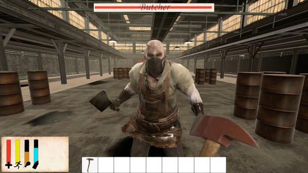 "Testing A Psycho Boss Battle ""The Butcher"""