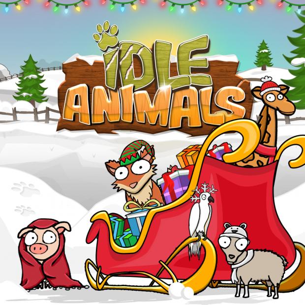 Idle Animals Winter Holiday