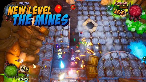 You're Doomed New Level - The Mines