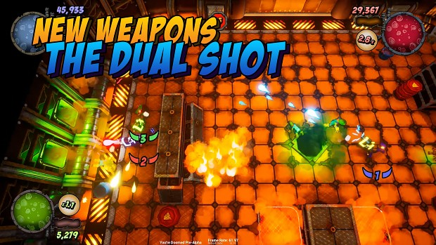 You're Doomed New Weapons Dual Shot