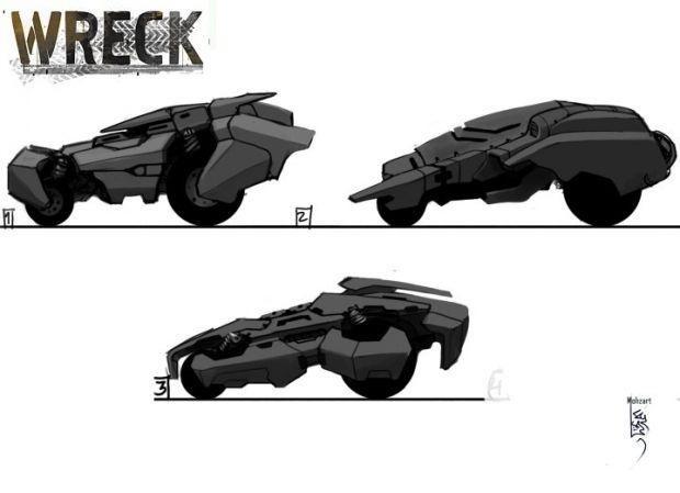 Vehicle Concept by Mohzart