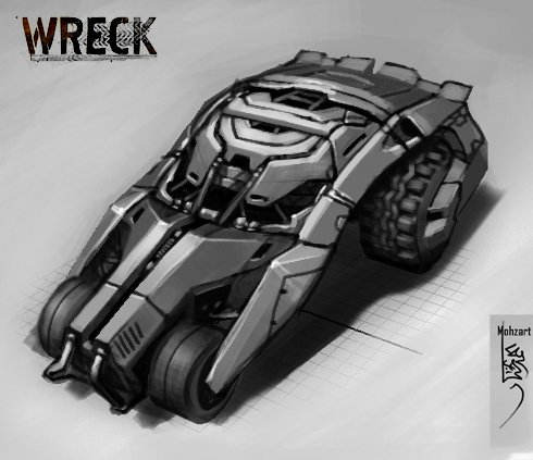 Vehicle Concept by Mohzart