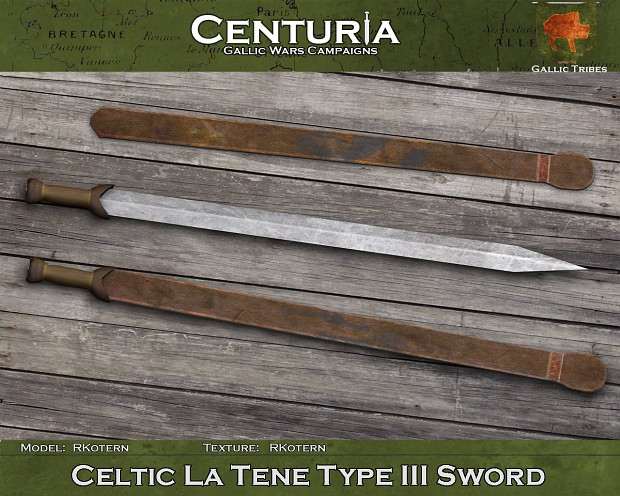 Celtic La Tene Type III Sword