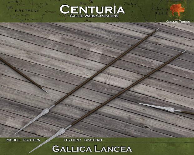 Gallica lancea