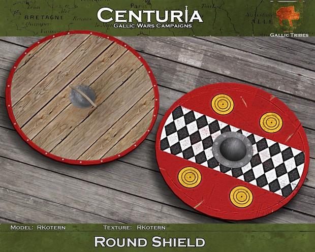 Gallic round shield (one variant)