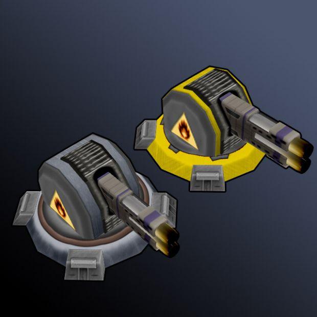 level 4/5 flame thrower guns.