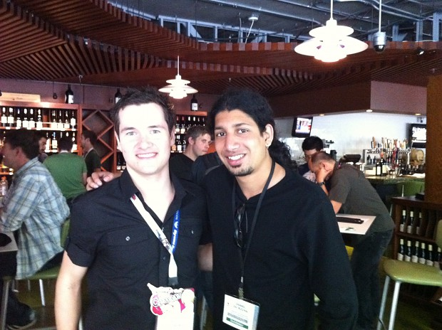 Dan with the creator of ModDB, Scott Resmanis!