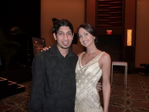 Dan with Jessica Chobot
