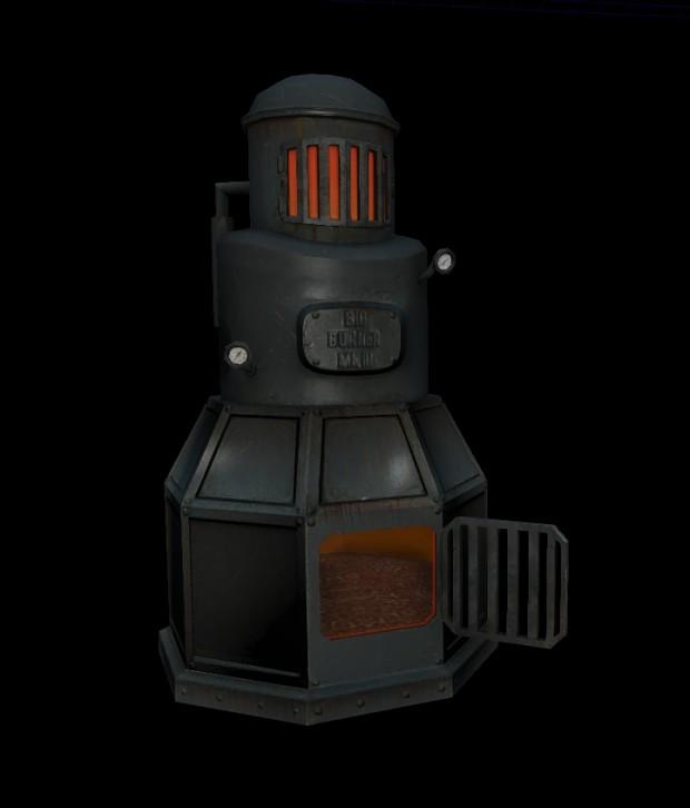 Blacksmith shop models
