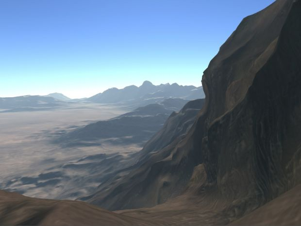 New terrain engine 5