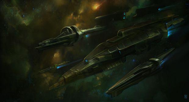 Vanquish DSF Destroyer concept