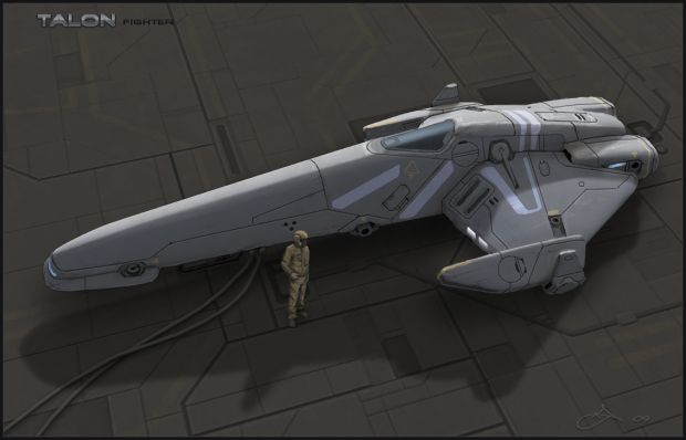 Deltan Talon Fighter