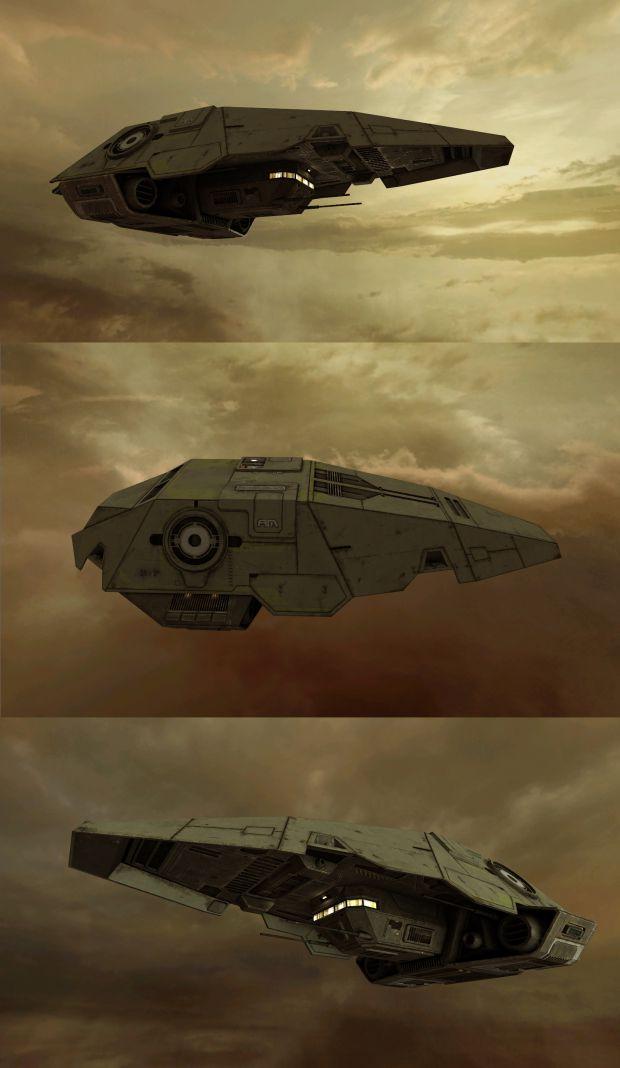 Armormite spaceship