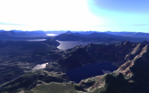 Planet terrain.