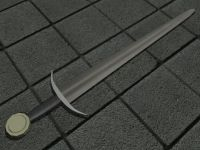 Sword Model For Darsana