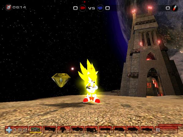 Super Sonic amp Chaos Emerald image Ashura Dark Reign