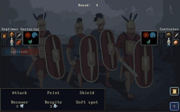 New Combat UI