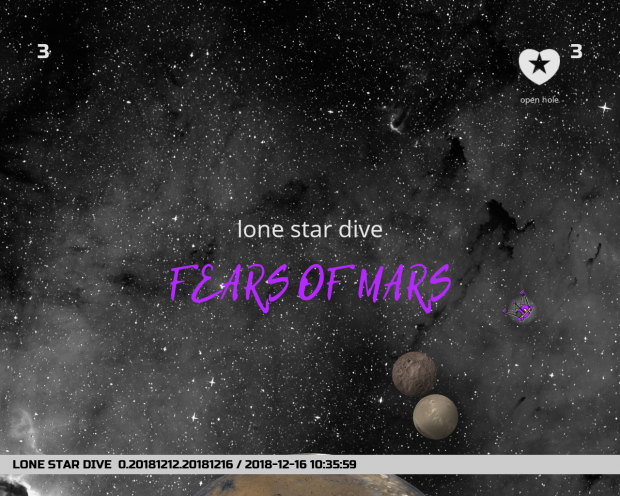 lone star dive fears of mars 1