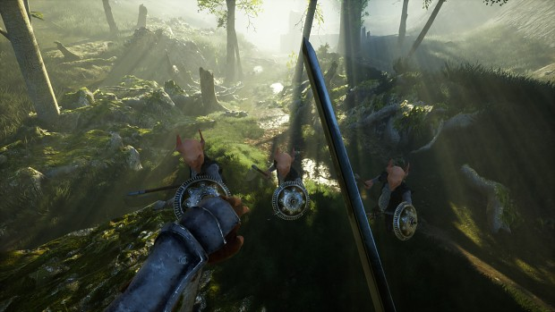 First Person Screenshot from the game