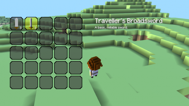 Working on the new inventory system!