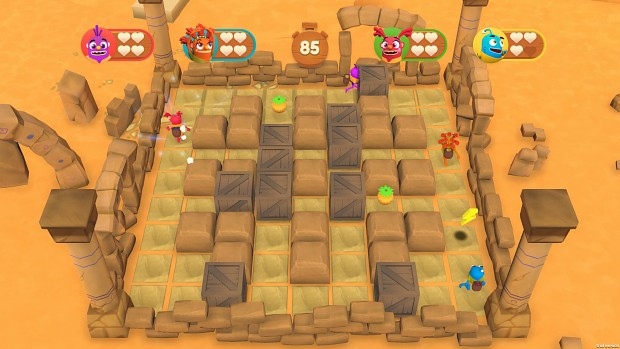 Minigame - Kaboom Ruins