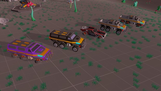 Utility Vehicles Lineup
