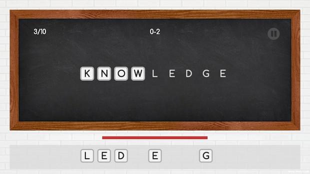 word shot game