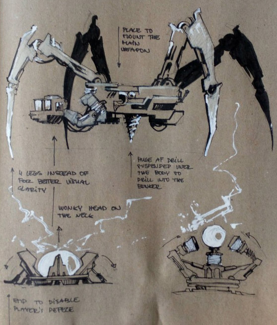 concept spiderBoss 5