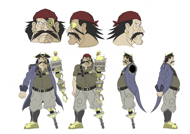 Concept art Pirate 2