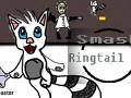 Smash Ringtail Cat