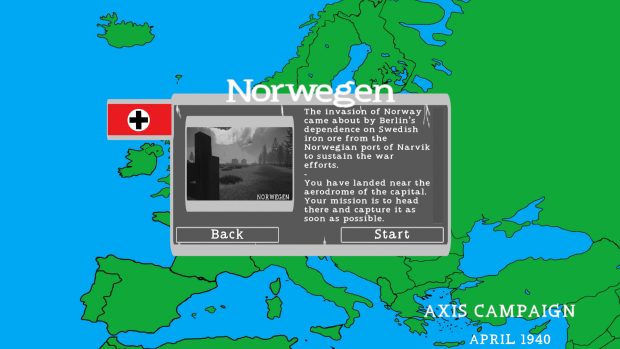 Campaign map image - War in Europe: 1940 - Mod DB