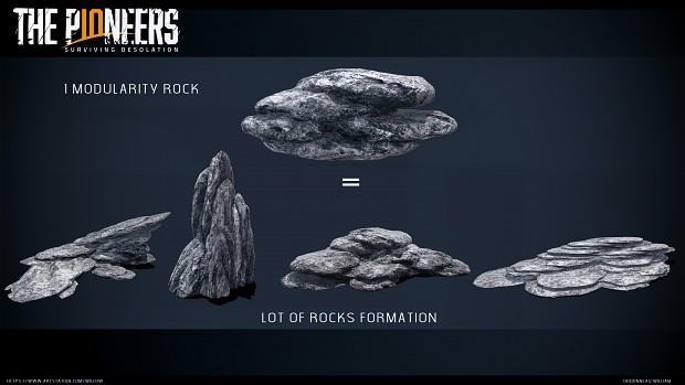 the pionners modularity rocks