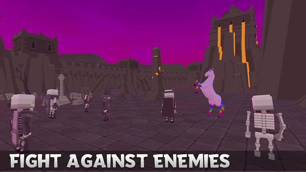 Magic Horse Simulator   FIGHT VS 5