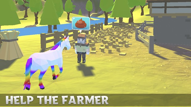 Magic Horse Simulator   Help Far 2