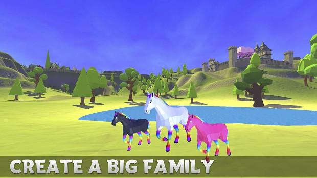 Magic Horse Simulator   Make Big 4