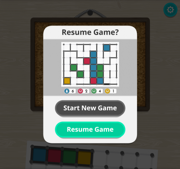 dots and boxes resume 2