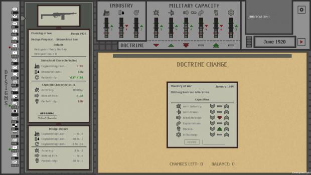 Doctrine Change