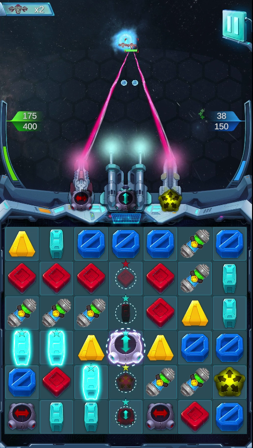 Screenshot alpha version sai warriors