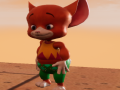 Adventures of orange mouse. Parkour Game