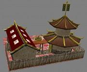 WIP China Barracks