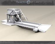 Pegasus Bridge WIP Model