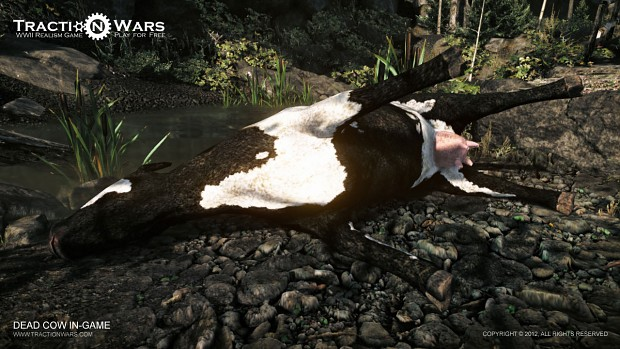 Dead Cow In-game