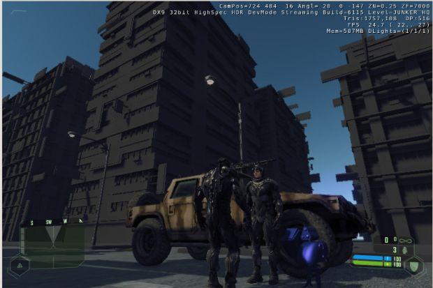 Metal Gear MKII (ver 3 WIP) in-game